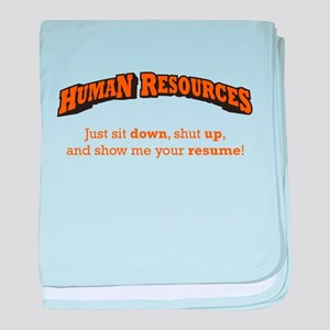 Human Resources / Sit baby blanket