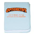 Optometry / Machine baby blanket