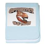Optometry Old Timer baby blanket