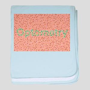 Optometry / Color baby blanket