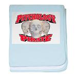 Psychology Pirate baby blanket