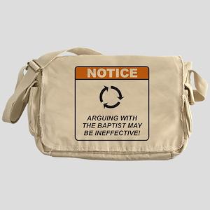 Baptist / Argue Messenger Bag