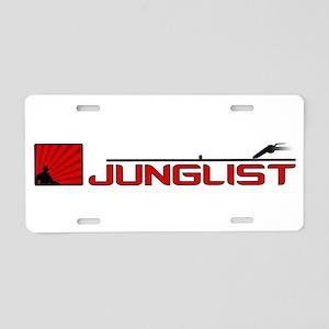 Junglist Aluminum License Plate
