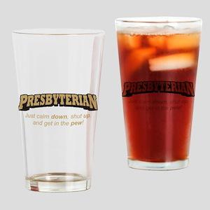 Presbyterian / Pew Drinking Glass