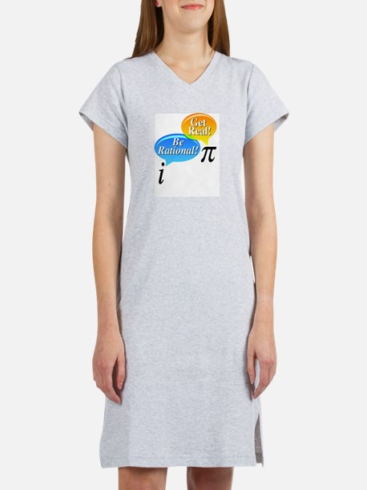 Cute Free thinking Women's Nightshirt