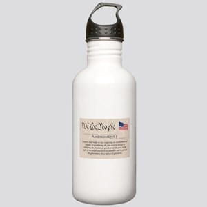 Amendment I w/Flag Stainless Water Bottle 1.0L