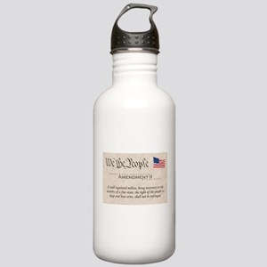 Amendment II w/Flag Stainless Water Bottle 1.0L