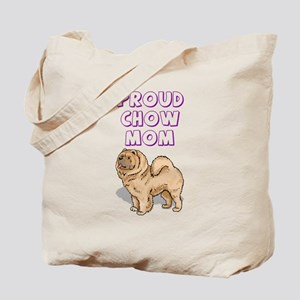 Proud Chow Mom Tote Bag