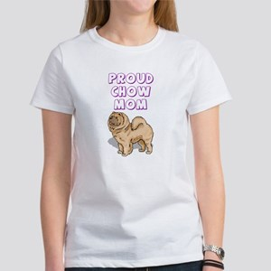 Proud Chow Mom Women's T-Shirt