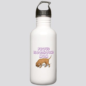 Proud Bloodhound Mom Stainless Water Bottle 1.0L