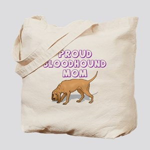 Proud Bloodhound Mom Tote Bag