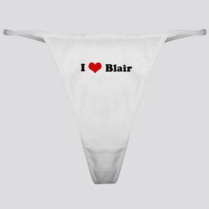 I Love Blair Classic Thong