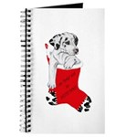 Harlequin Great Dane Christma Journal