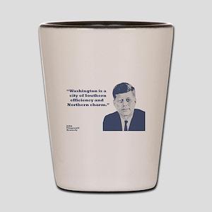 Kennedy - Washington Shot Glass