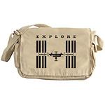 ISS / Explore Messenger Bag