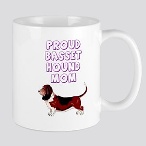 Proud basset hound mom Mug