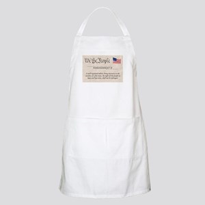 Amendment II Apron