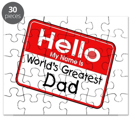 Worlds Greatest Dad Puzzle