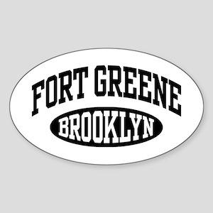 Fort Greene Brooklyn Sticker (Oval)