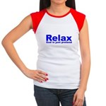 Relax Women's Cap Sleeve T-Shirt