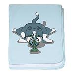 Eco cat 1 baby blanket