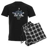 Eco cat 1 Men's Dark Pajamas