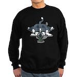 Eco cat 1 Sweatshirt (dark)