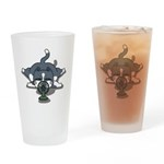 Eco cat 1 Drinking Glass