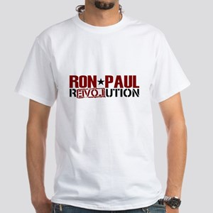 Ron Paul Star White T-Shirt