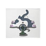 Eco cat 2 Throw Blanket
