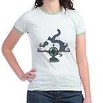 Eco cat 2 Jr. Ringer T-Shirt