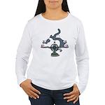 Eco cat 2 Women's Long Sleeve T-Shirt