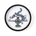 Eco cat 2 Wall Clock
