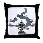 Eco cat 2 Throw Pillow