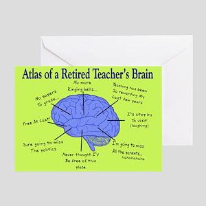 teacher retirement greeting cards cafepress
