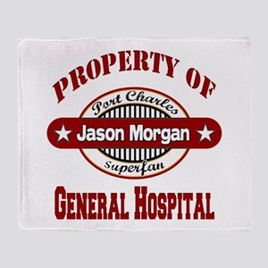 Property of Jason Morgan Throw Blanket