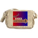 Novel Under Construction Messenger Bag