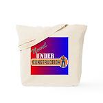 Novel Under Construction Tote Bag