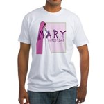New! Mary Christmas by Svelte.biz Fitted T-Shirt