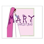 New! Mary Christmas by Svelte.biz Small Poster