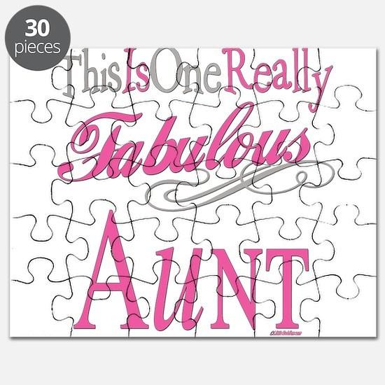 Fabulous Aunt Puzzle