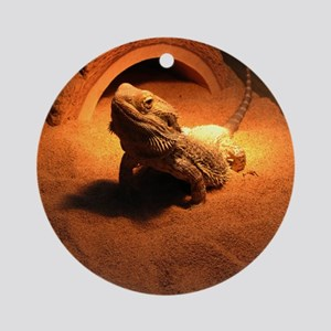 .bearded dragon. Ornament (Round)