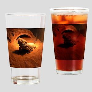 .bearded dragon. Drinking Glass