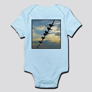 Birds on a Wire Infant Bodysuit