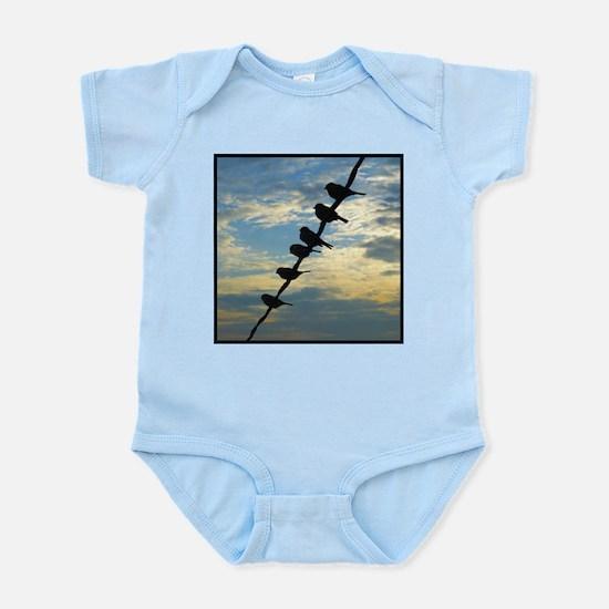 Birds on a Wire Infant Bodysuit