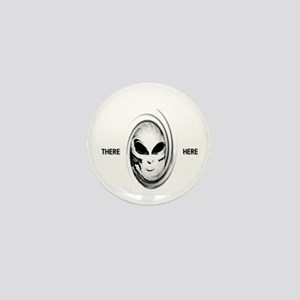 aliens there here Mini Button
