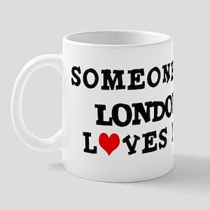 Someone in London Mug
