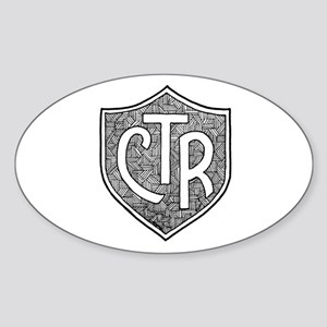 CTR Oval Sticker