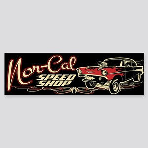 Nor-Cal Chevy Gasser Sticker (Bumper)