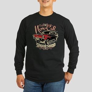 Nor-Cal Chevy Gasser Long Sleeve Dark T-Shirt